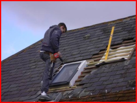 Velux roof window installations in Scotland