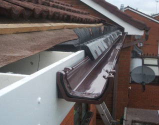 Roofline Upvc Fascia Board And Soffit Replacement In West